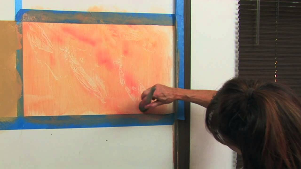 how to marble paint a wall youtube