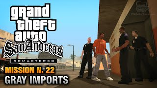GTA San Andreas Remastered - Mission #22 - Gray Imports (Xbox 360 / PS3)
