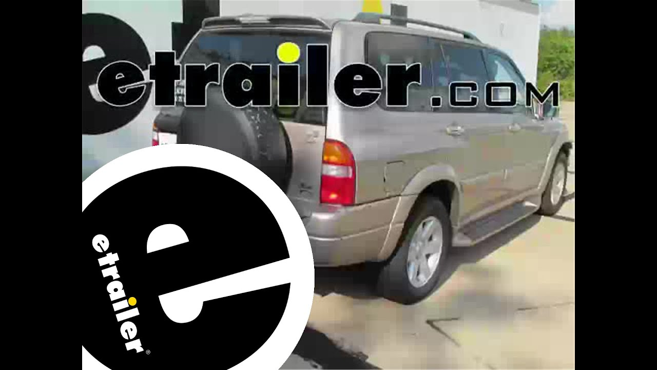 hight resolution of trailer wiring harness installation 2001 suzuki xl 7 etrailer com