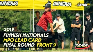 Finnish Nationals 2019 - MPO Final Round, Front 9 (Vikström, Heinänen, Räsänen, Nieminen)