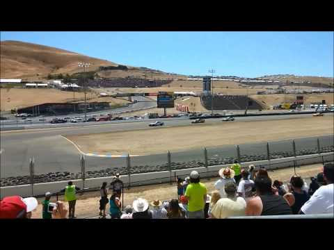 Calistoga Speedway Sprints + NASCAR Cup and GT3 @ Sonoma!