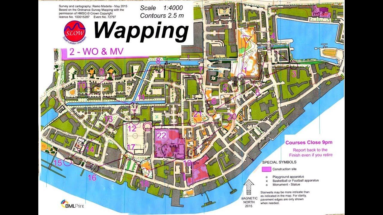 Slow london city race wapping urban orienteering event 8th slow london city race wapping urban orienteering event 8th september 2017 biocorpaavc