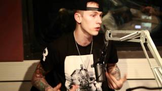 Repeat youtube video Machine Gun Kelly Keeps it Real with Peter Rosenberg at Hot97
