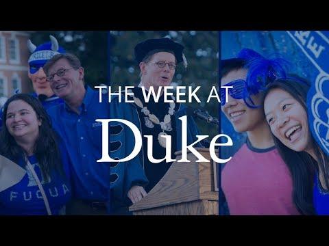 This Week at Duke: Inauguration, University Medal and more