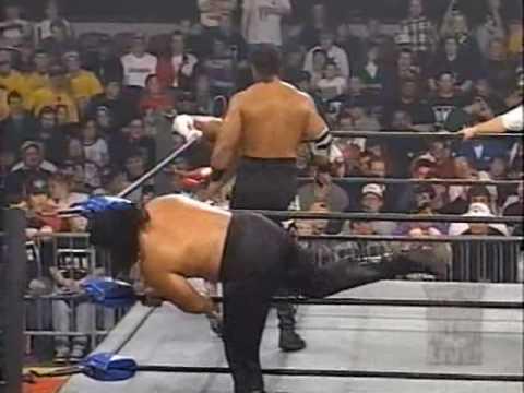 (3.24.1997) Road to Spring Stampede 1997 Part 9 - Faces of Fear vs. Harlem Heat w. Sherri Pt. 2