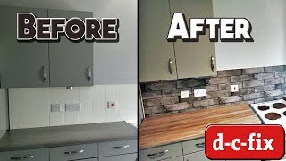 HOW TO APPLY D-C-FIX | BUDGET KITCHEN MAKEOVER | CREATE YOUR WORLD