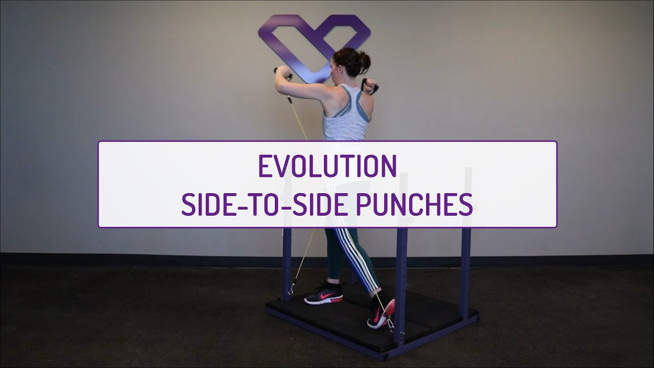 Home Exercises | Evolution Side-to-Side Punches | Strength & Core | Shoulders & Obliques