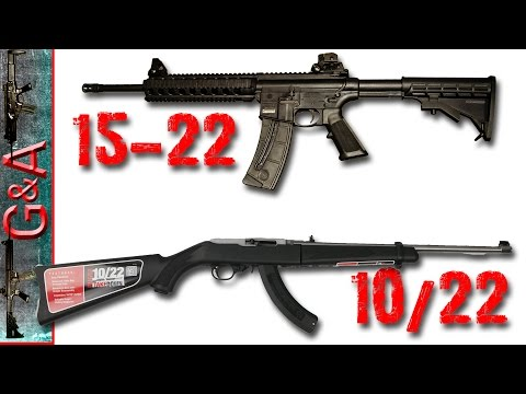 Smith & Wesson M&P 15-22 vs Ruger 10/22