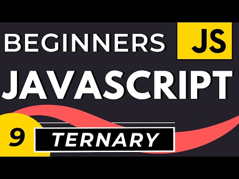 Ternary Operator in Javascript | Tutorial for Beginners