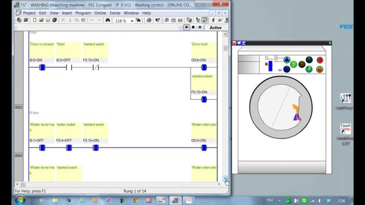 Plc programming washing machine easyveep youtube ccuart Images