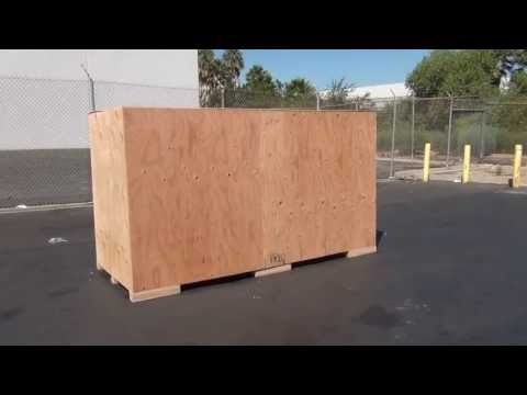 Motorcycle Crate - CDS Moving Equipment