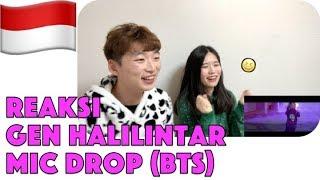 Reaksi BTS(방탄소년단) - MIC Drop - Gen Halilintar (Cover) (Steve Aoki Remix) 11 KIDS+Mom