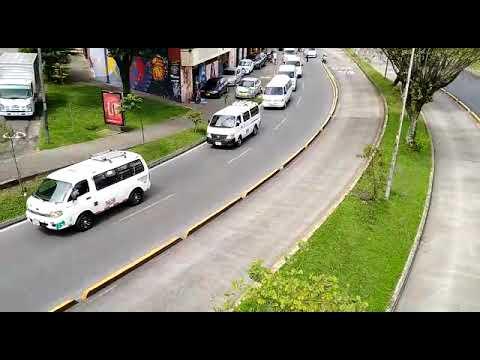 Transportadores de Pereira salieron a protestar