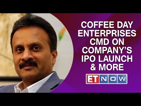 Coffee Day Enterprises CMD VG Siddhartha On company's IPO Launch & More