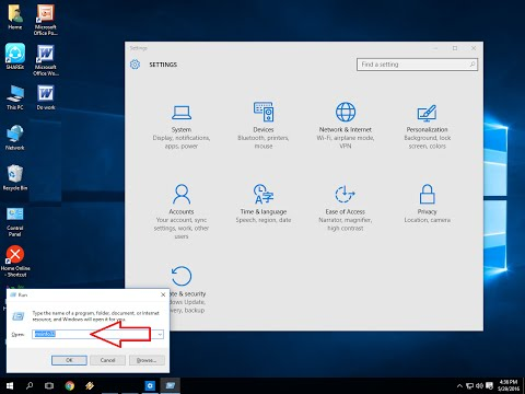 Shortcut Keys To Open All Things From Run In Windows PC Windows 10,8 1&7