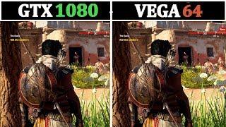 4K & 1440P | Vega 64 vs GTX 1080 | Tested 15 Games |