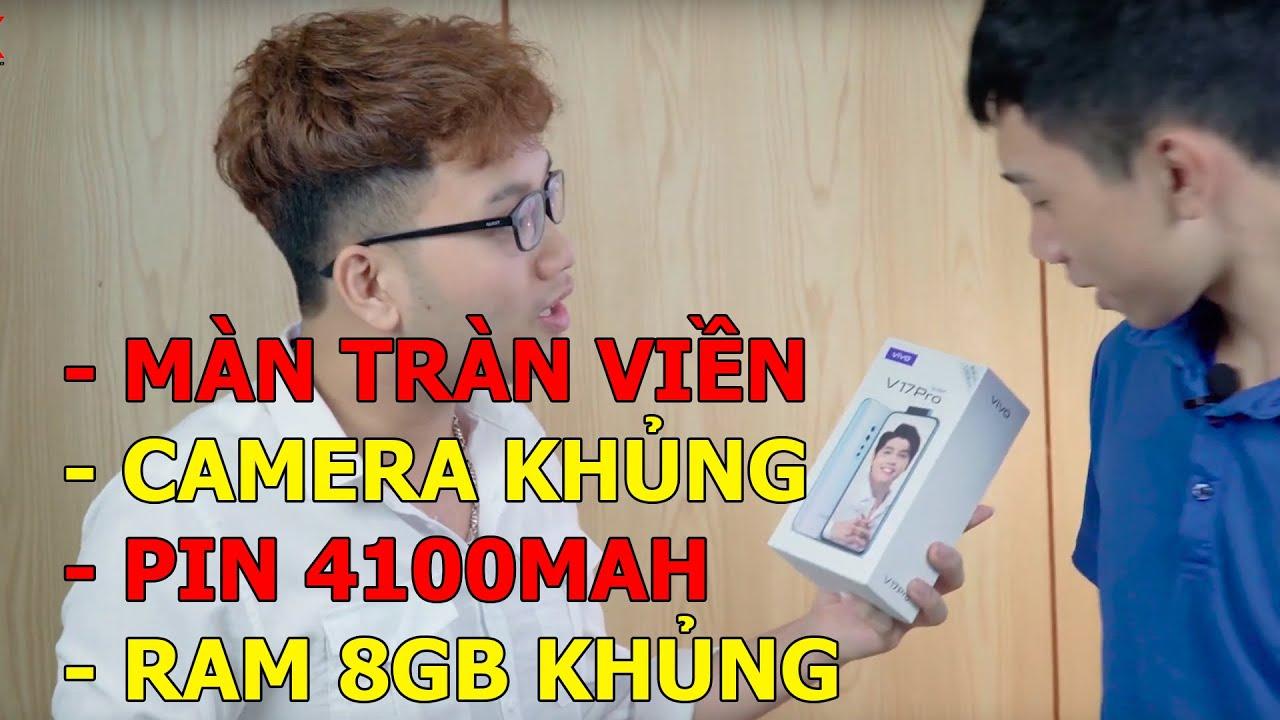 BẤT NGỜ với Vivo V17 Pro: 6 camera, màn hình tràn viền, thiết kế đẹp, cùng đoán giá!