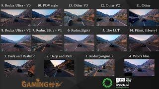 Grand Theft Auto 5 Redux ReShade Comparison (Filmic,POV style, Redux Ultra,Who