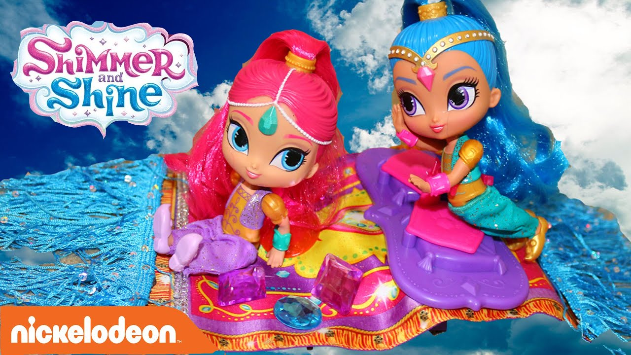 Toy Review Shimmer Amp Shine Palace Float Sing Music Flying