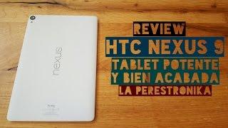 Review HTC Nexus 9: Una tablet muy potente con buenos acabados