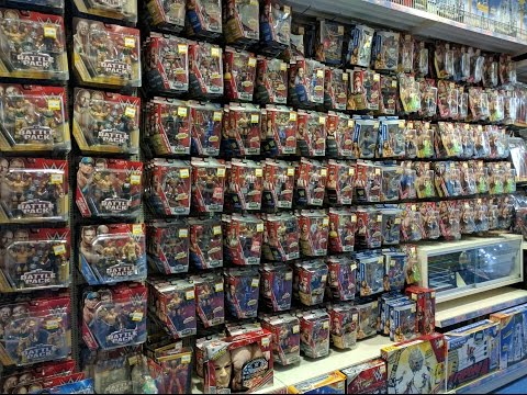 HUGE WWE Mattel Figure Toy Hunt UK - July 2016 (Toys R Us & Smyth's)