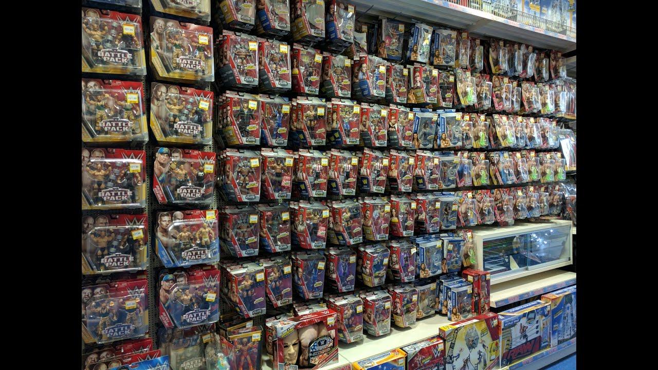 HUGE WWE Mattel Figure Toy Hunt UK July 2016 Toys R Us