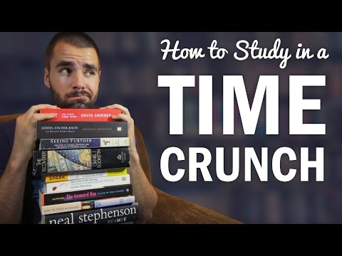 How to Study and Do Homework in a Time Crunch - College Info