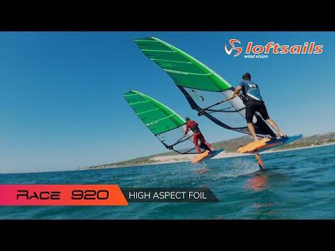 Loftsails 2021 Race 920 —  High Aspect Foil