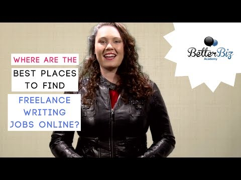 Online Writing Jobs: Where Are the Best Places to Find Freelance Writing Jobs Online?