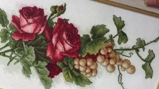 Мои готовые работы вышивка крестом/Обрамление