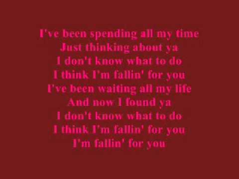 Fallin' For You - Colbie Caillat - Lyrics