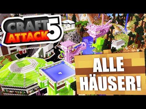 SPECIAL: ALLE HÄUSER in CRAFT ATTACK 5! ✖️ Craft Attack 5 #100