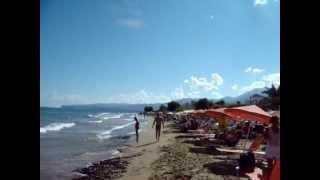 Пляж Сталиды, Крит, Греция. Beach of Stalis, Crete, Greece.(Видео для блога: http://sergiisolodkyi.blogspot.com/, 2014-07-22T13:09:45.000Z)