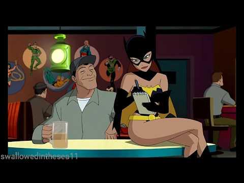 Harley Quinn Working as a Waitress