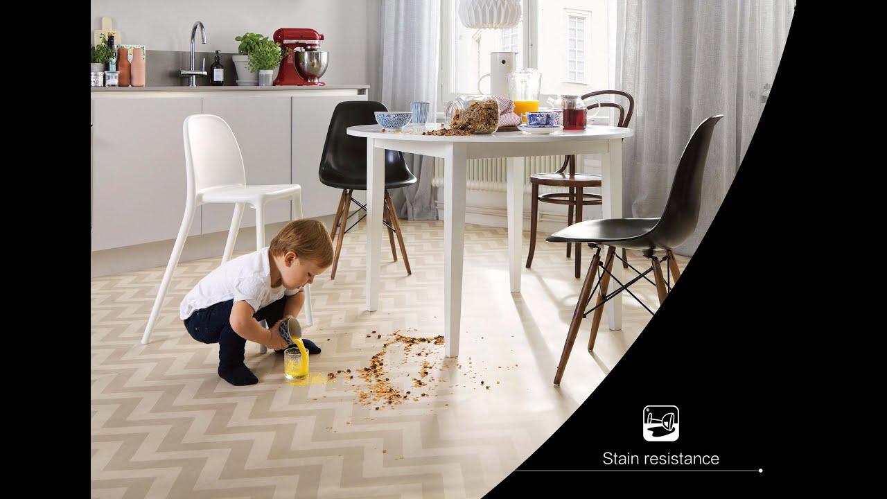 SPC Flooring Stain Resistance