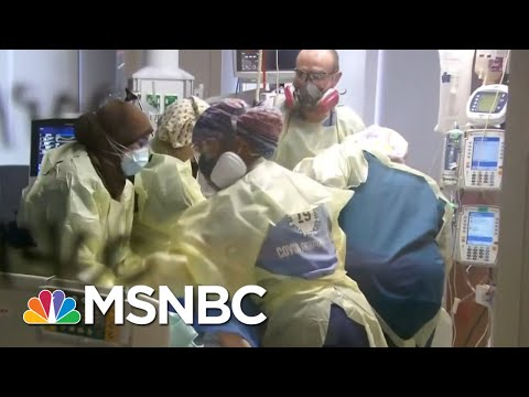What It Means To 'Prone' A Covid-19 Patient; Nothing Is Easy In Covid Care   Rachel Maddow   MSNBC