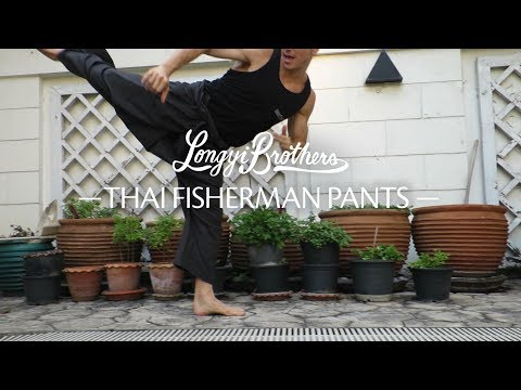 Thai Fisherman Pants - Mobility, Kicking