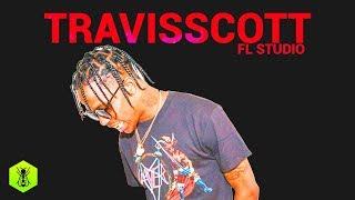 FL Studio Tutorial Travis Scott Dark Emotions Beat Tutorial