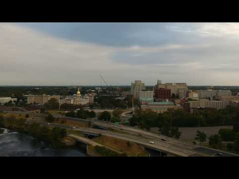 Drone Flight: Trenton, New Jersey (Yes, The State Capital)