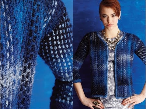 #11 Chanel-Inspired Jacket, Vogue Knitting Crochet 2014 ...