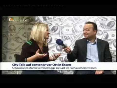City Talk mit Frank von Pigage - Interview mit Martin Semmelrogge (4/5)