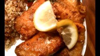 Marinade für knusprigen und würzigen Fisch / Lachs. Super LECKER!!!!!