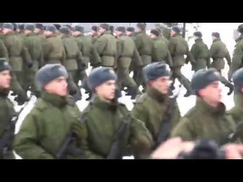 Гвардейская мотострелковая Таманская дивизия 2014. Алабино