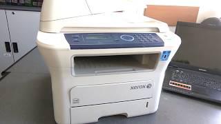 мФУ Xerox WorkCentre 3220 Системная ошибка. Перезагрузите. Ремонт принтера своими руками