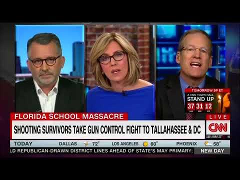 CNN Panel Melts Down After Jack Kingston Dismisses Parkland Students as Leftist Stooges