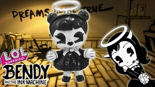 Custom ALICE ANGEL LOL DOLL Bendy And The Ink Machine Ball