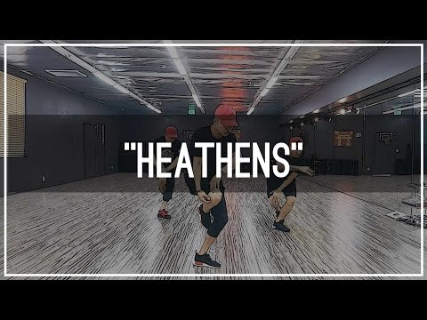 "twenty one pilots ""Heathens"" Choreography by Mike Song ft. Tony Tran & Charles Nguyen"