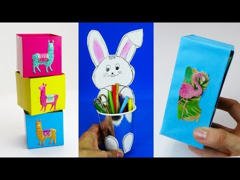 5 DIY School Supplies  Easy DIY Paper crafts ideas