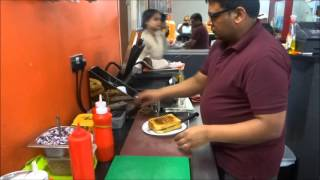 (Cheese Butter) Toast Sandwich - Indian Street Food at Bombay Spice Nashta House, Kingsbury, London.