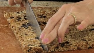 Homemade Granola Bars - Let